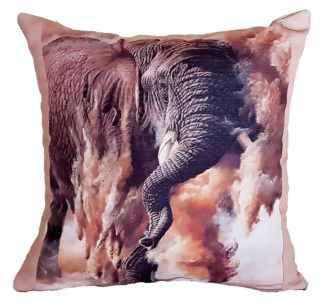 African designer cushion covers Elephant