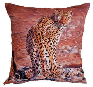African designer cushion covers Leopards