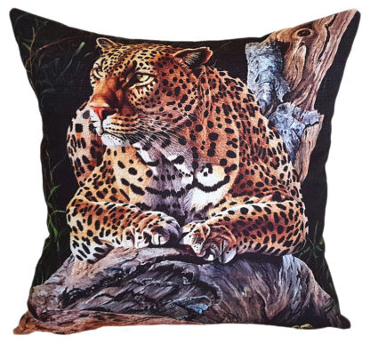 African designer cushion covers Leopard
